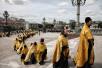 Завершение крестного хода «Под звездой Богородицы» и благодарственный молебен в Храме Христа Спасителя