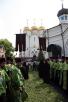 Патриарший визит на Украину. День пятый. Малое освящение Успенского собора Никольского Васильевского монастыря.