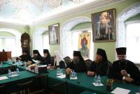 Святейший Патриарх Кирилл возглавил общее собрание профессорско-преподавательской корпорации и сотрудников Московских духовных школ