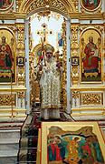 Святейший Патриарх Алексий совершил Божественную литургию в восстановленном Свято-Михайловском соборе Ижевска