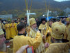 Освящение памятника апостолам Петру и Павлу в Петропавловске-Камчатском