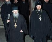 Начался визит архиепископа Волоколамского Илариона в Косово и Метохию