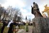 Патриаршее служение в Иосифо-Волоцком монастыре. Освящение памятника преподобному Иосифу Волоцкому.