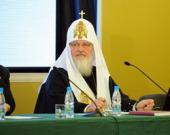 Выступление Святейшего Патриарха Кирилла на встрече с молодежью в рамках выставки-форума «Православная Русь — к Дню народного единства»