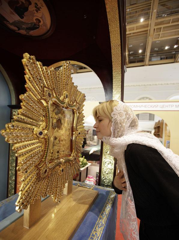 Торжественное открытие VIII церковно-общественной выставки-форума «Православная Русь — к Дню народного единства»