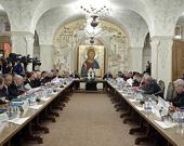 Святейший Патриарх Кирилл возглавил 21-е совместное заседание Наблюдательного, Попечительского и Общественного советов по изданию «Православной энциклопедии»