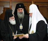 Предстоятель Русской Церкви встретился с Католикосом-Патриархом всея Грузии Илией II
