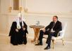 Патриарший визит в Азербайджан. Встреча с Президентом И. Алиевым.