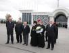Патриарший визит в Азербайджан. Прибытие в аэропорт Баку.