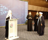 Святейший Патриарх Кирилл вручил председателю Управления мусульман Кавказа Аллахшукюру Паша-заде орден «Славы и Чести»