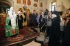 Патриарший визит в Азербайджан. Молебен в кафедральном соборе святых Жен-мироносиц города Баку.