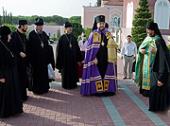 В день памяти праведной Тавифы на подворье Русской духовной миссии в Яффо совершена праздничная Литургия