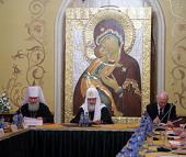 Святейший Патриарх Кирилл возглавил заседание Издательского Совета Русской Православной Церкви