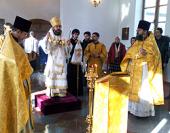 Архиепископ Иларион совершил Божественную литургию в храме на территории посольства Российской Федерации в Пекине