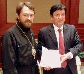 Завершилось пребывание в Китае делегации Отдела внешних церковных связей Московского Патриархата