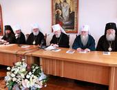 На расширенном заседании Священного Синода Украинской Православной Церкви были представлены статистические данные УПЦ за 2009 год