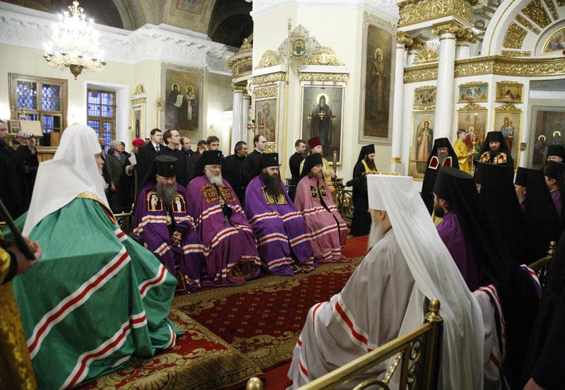 Чин наречения архимандрита Климента (Родайкина) во епископа Рузаевского, викария Саранской епархии