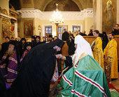 Святейший Патриарх Кирилл возглавил чин наречения архимандрита Климента (Родайкина) во епископа Рузаевского, викария Саранской епархии