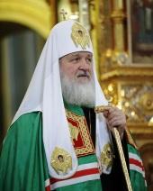 Слово Предстоятеля Русской Церкви после Божественной литургии в Неделю 25-ю по Пятидесятнице