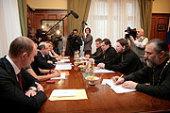 В Госдуме состоялась дискуссия представителей Русской Православной Церкви и депутатов фракции «Справедливая Россия»