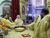 Святейший Патриарх Кирилл возглавил хиротонию архимандрита Климента (Родайкина) во епископа Рузаевского, викария Саранской епархии