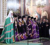 Слово Святейшего Патриарха Кирилла за Божественной литургией в день памяти святителя Филарета Московского в Храме Христа Спасителя