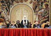 Святейший Патриарх Кирилл выступил на открытии I Форума православных женщин