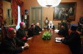 Патриарх Кирилл встретился с членами делегации Римско-Католической Церкви