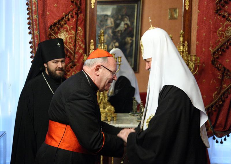 КАРДИНАЛ КУРТ КОХ встречается с патриархом Кириллом