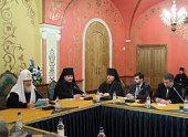 Святейший Патриарх Кирилл встретился с руководством и членами Клуба православных предпринимателей