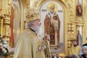 Проповедь Святейшего Патриарха Кирилла за Божественной литургией в день памяти святителя Николая, архиепископа Мир Ликийских