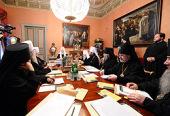ЖУРНАЛЫ заседания Священного Синода от 25 декабря 2009 года