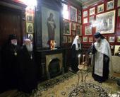 Члены Священного Синода вознесли молитву о упокоении души Святейшего Патриарха Сербского Павла