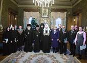 В рабочей резиденции в Чистом переулке состоялась церемония вручения Патриарших наград