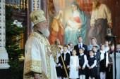 Проповедь Святейшего Патриарха Кирилла за богослужением в праздник Рождества Христова