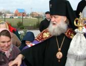 Патриаршее поздравление архиепископу Ростовскому Пантелеимону с 40-летием служения в священном сане