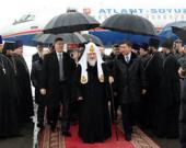 Предстоятель Русской Православной Церкви прибыл в Алма-Ату