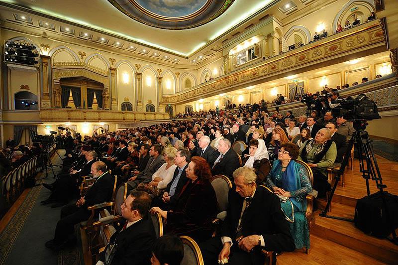 Патриарший визит в Казахстан. Встреча с представителями общественности республики.