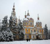 Вознесенский кафедральный собор города Алма-Аты
