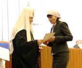 Святейший Патриарх Кирилл возглавил церемонию награждения победителей Всероссийского конкурса «За нравственный подвиг учителя»