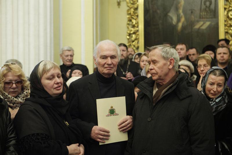 Прощание с С.Ф. Ганичевой