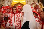 Святейший Патриарх Кирилл благословил сборную России на участие в Олимпийских играх в Ванкувере