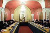 Первое заседание президиума Межсоборного присутствия открылось в Храме Христа Спасителя