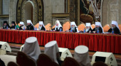 Под председательством Святейшего Патриарха Кирилла в Храме Христа Спасителя открылось Архиерейское совещание