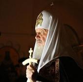 Слово Предстоятеля Русской Церкви после великого повечерия в понедельник первой седмицы Великого поста