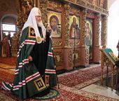 Патриаршее слово в субботу первой седмицы Великого поста после богослужения в Высоко-Петровском монастыре