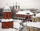 В субботу первой седмицы Великого поста Святейший Патриарх Кирилл совершил Божественную литургию в Высоко-Петровском монастыре