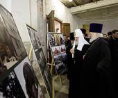 Предстоятель Русской Церкви посетил Московский епархиальный дом в Лиховом переулке