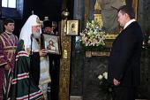 Обращение Святейшего Патриарха Кирилла к избранному Президенту Украины В.Ф. Януковичу