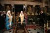 Визит Святейшего Патриарха Кирилла на Украину. Молебен в Киево-Печерской лавре в день инаугурации Президента Украины.